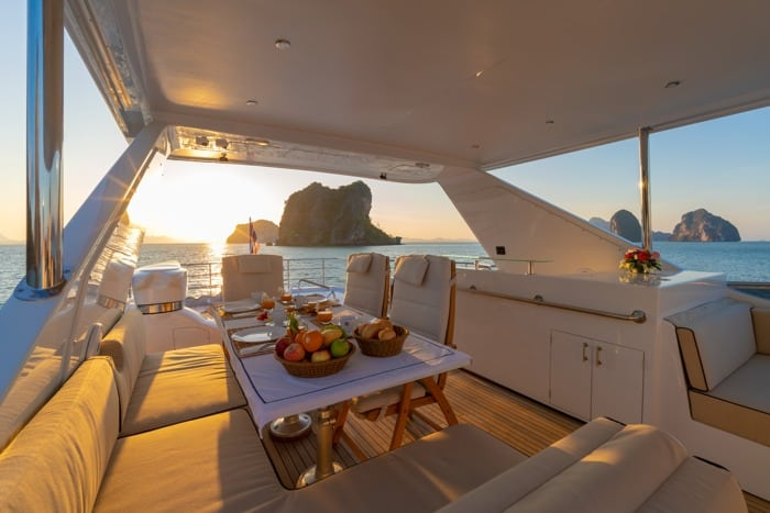 AJAO Yacht Boat Cruises Luxury Experience Thailand 13 700px