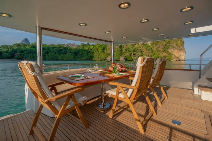 AJAO Yacht Boat Cruises Luxury Experience Thailand 26 700px