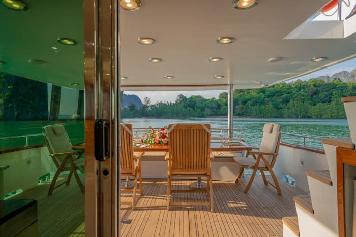 AJAO Yacht Boat Cruises Luxury Experience Thailand 29 700px