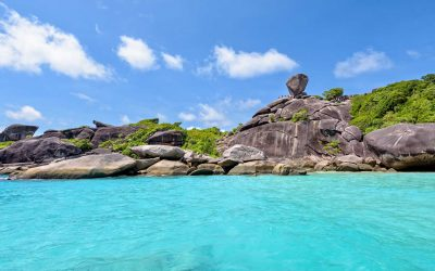 Dive into the beautiful coral reefs of the Similan Islands