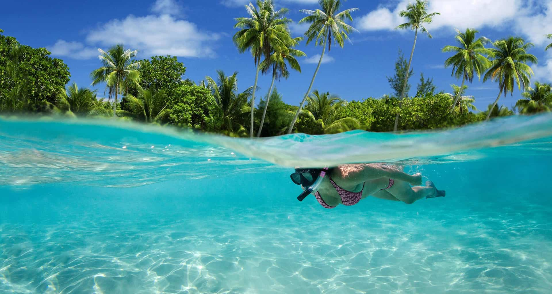 Woman Snorkeling In Myanmar With Ajao Cruises Day Trip