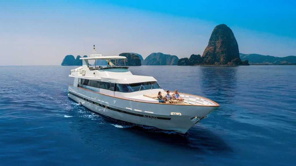 Ajao Private Yacht Andaman Sea