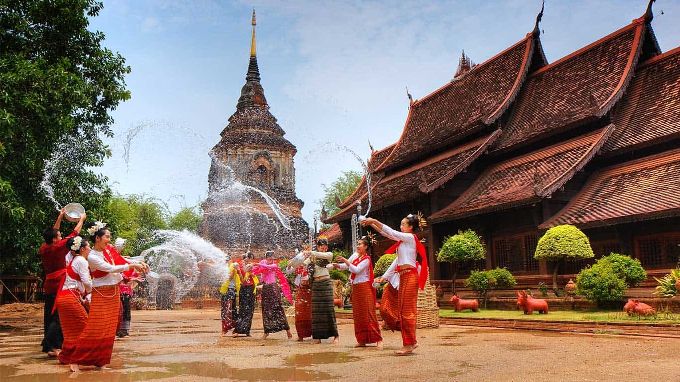 Ajao Private Yacht Cruises Celebrating Songkran As A Buddhist
